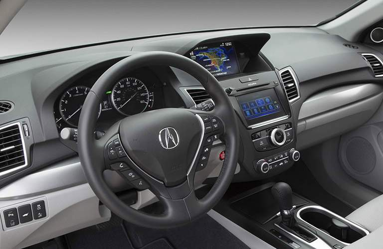 Steering wheel of 2017 Acura RDX