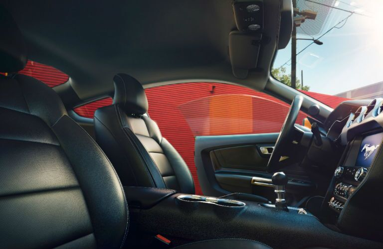 2017 Ford Mustang leather interior