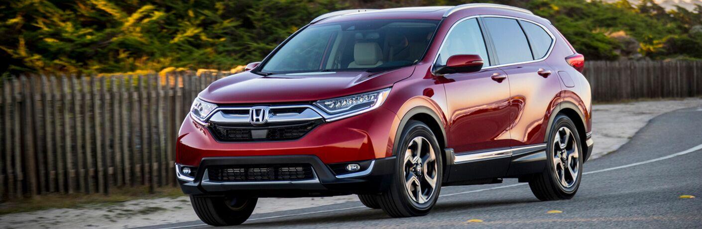 2019 Honda CR-V driving on a summer day