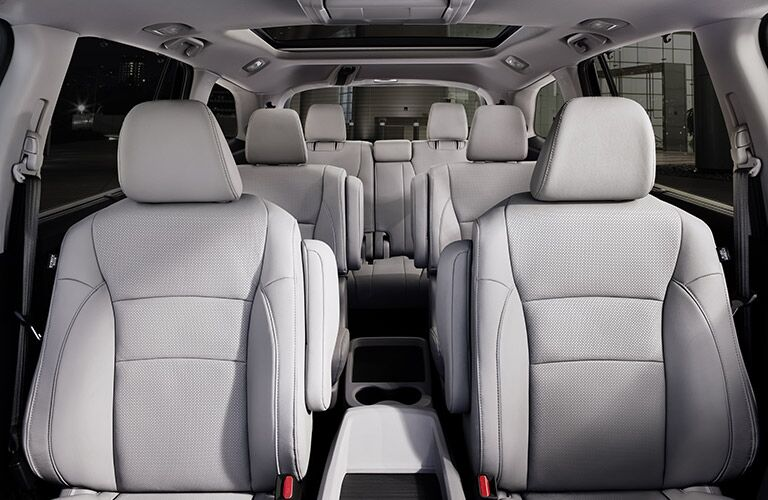 View of all the seats in the 2020 Honda Pilot EX-L