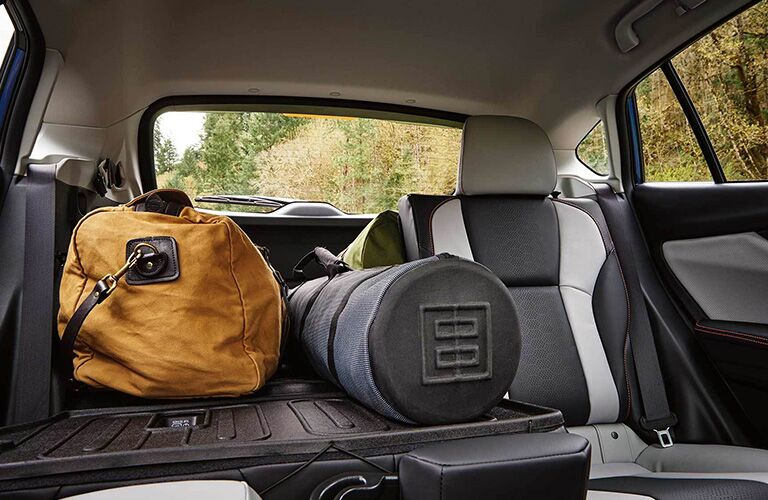 Cargo in the 2019 Subaru Crosstrek