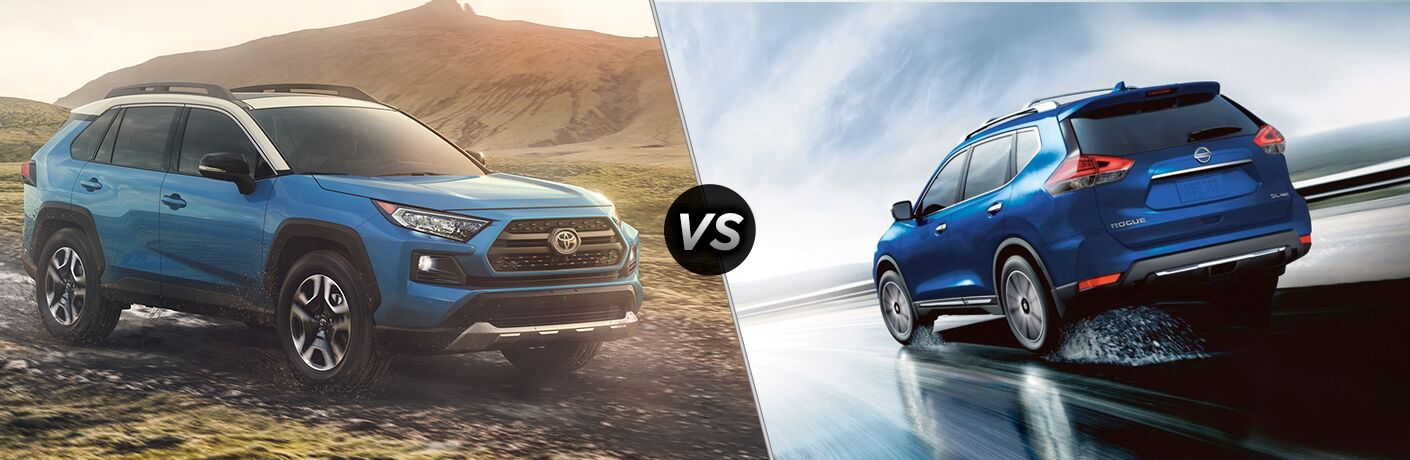 2019 Toyota RAV4 vs. 2019 Nissan Rogue