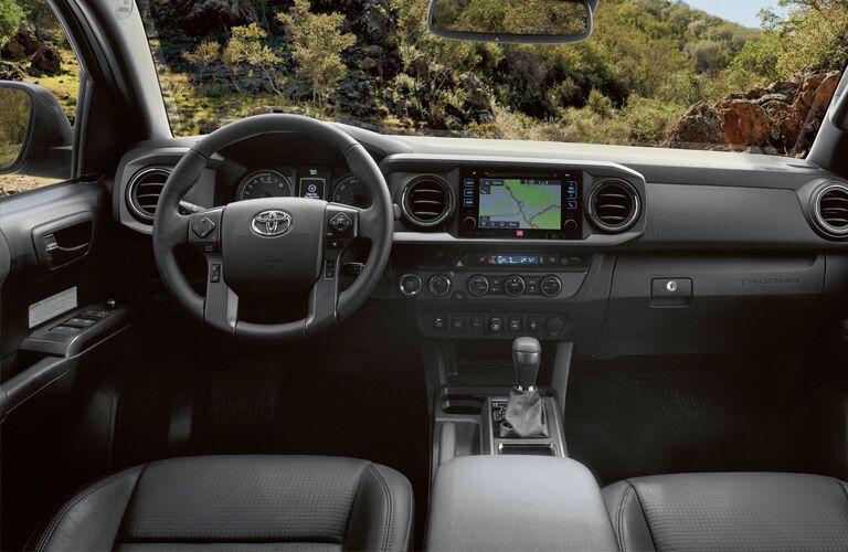 Cabin of the 2019 Toyota Tacoma