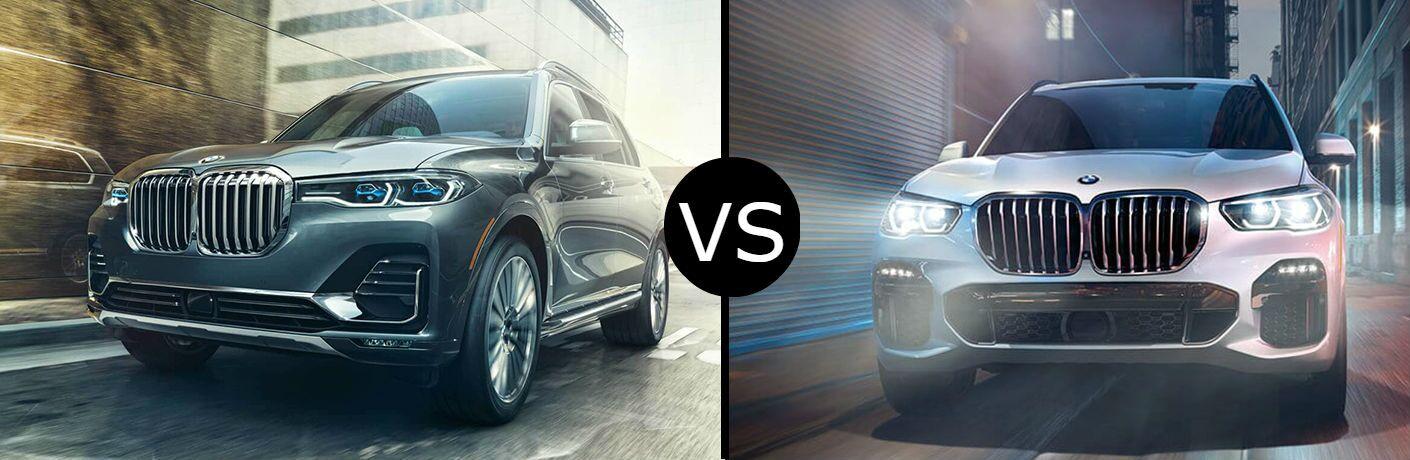 2019 BMW X7 vs. 2019 BMW X5
