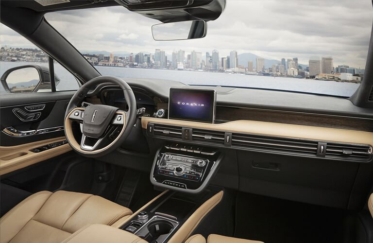 Dashboard in the 2020 Lincoln Corsair