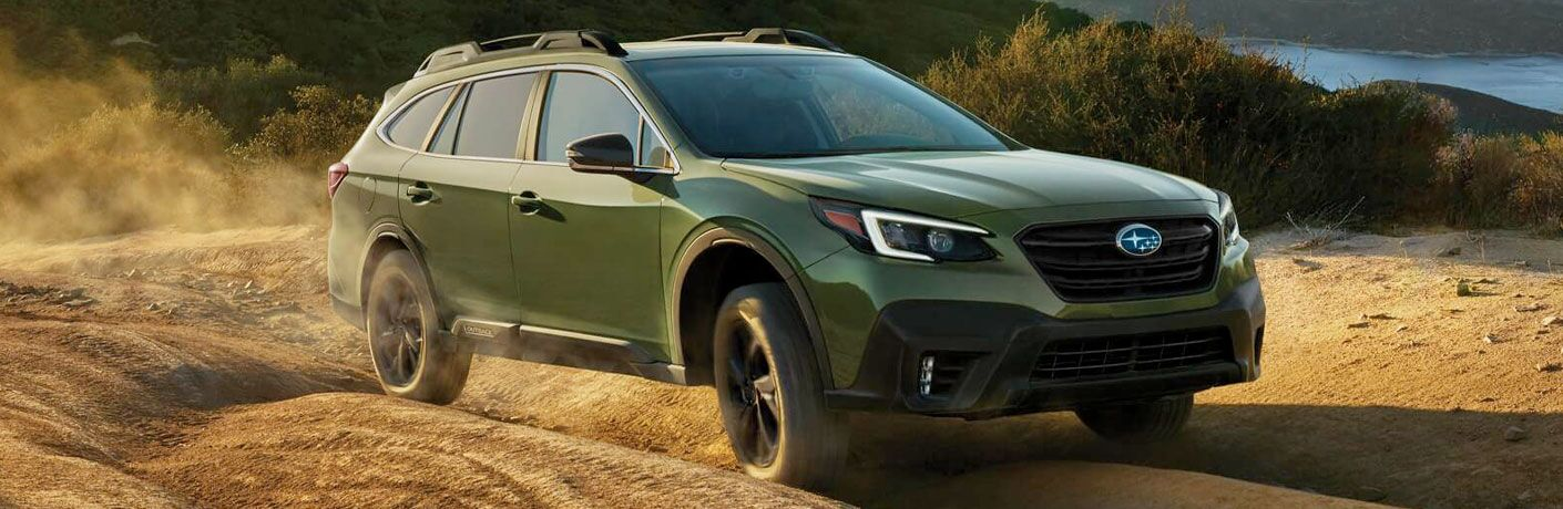 2021 Subaru Outback driving off-road