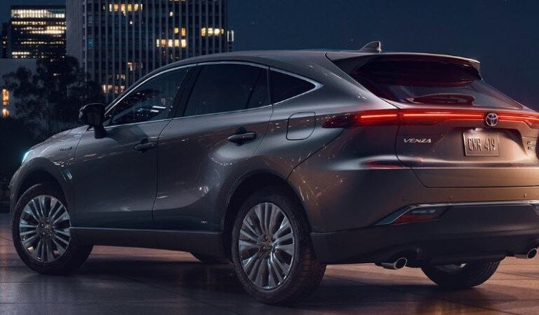 2021 Toyota Venza parked in a city