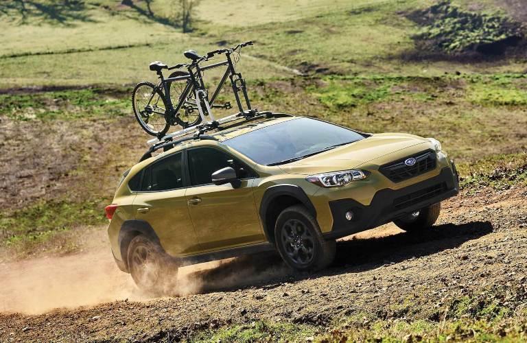 2021 Subaru Crosstrek driving off-road