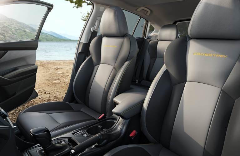 2021 Subaru Crosstrek front row