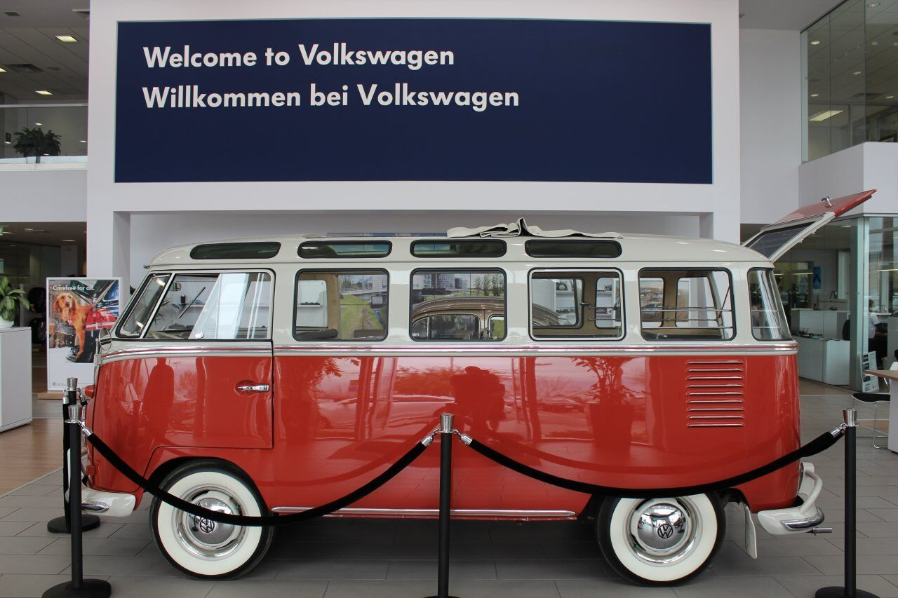 Old VW Aircooled Bus