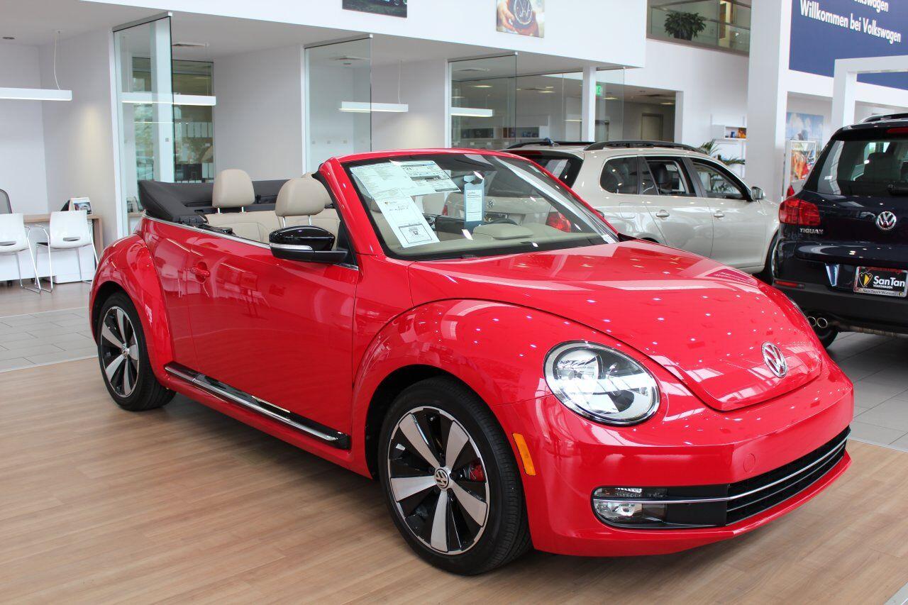 New VW Beetle Convertible