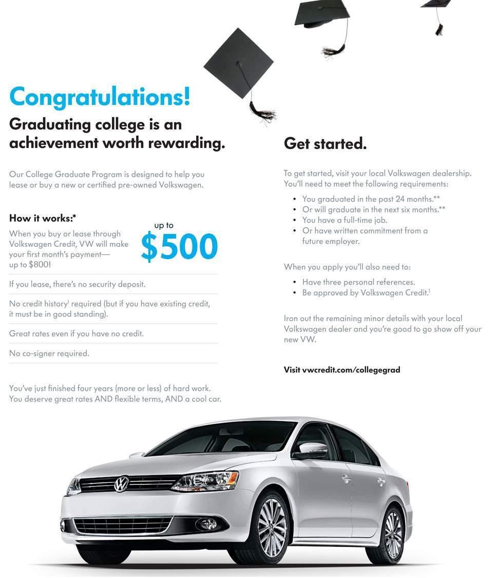 Volkswagen lease program