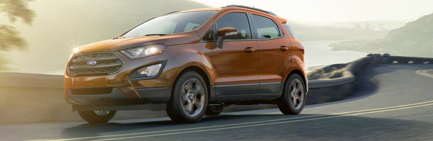 2018 Ford EcoSport front exterior on road