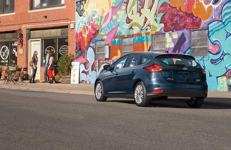 2018 Ford Focus hatchback exterior back