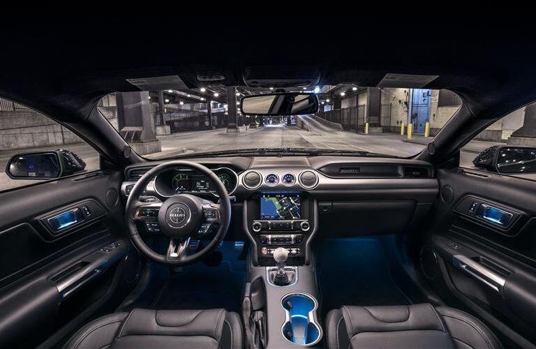 Interior View of 2019 Ford Mustang BULLITT