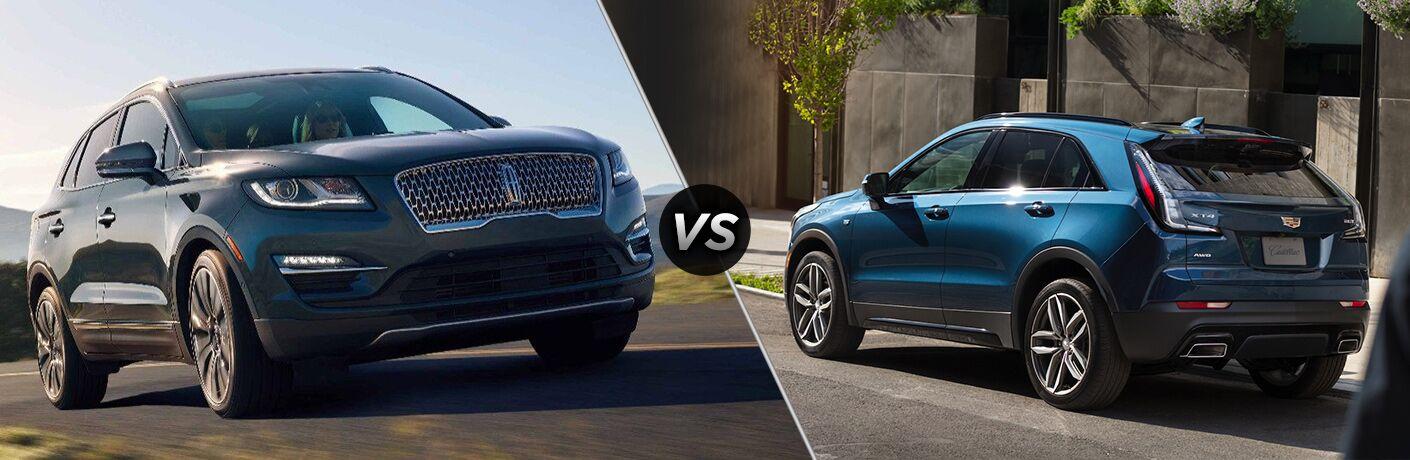 2019 Lincoln MKC vs 2019 Cadillac XT4