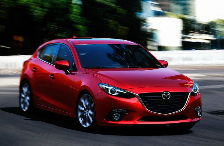 exterior design features on the 2016 mazda3 hatchback