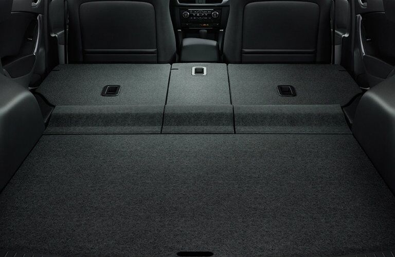2016 mazda cx-5 cargo space with rear seats folded down