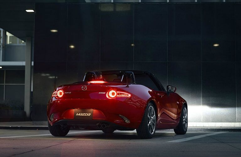 2016 mazda mx-5 miata with led taillights