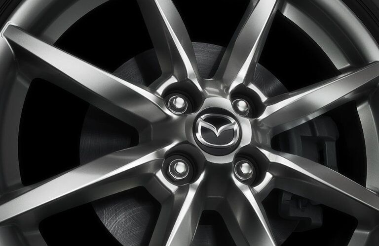 2016 mazda mx-5 miata silver wheel design