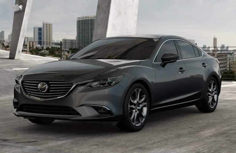Grey 2017.5 Mazda6 in a Parking Garage
