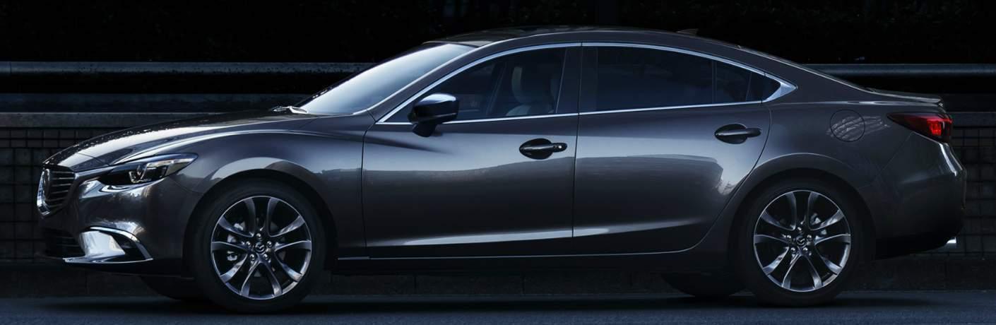 2017.5 Mazda6 Grey Exterior - Side Profile