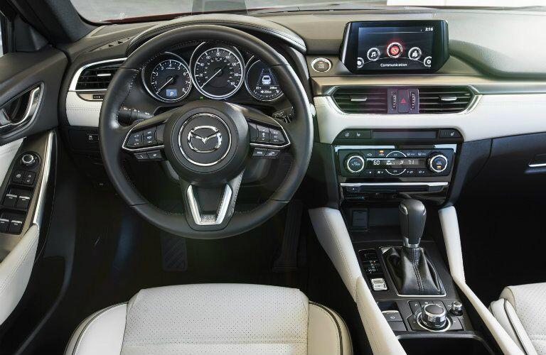 2017 mazda6 new steering wheel design