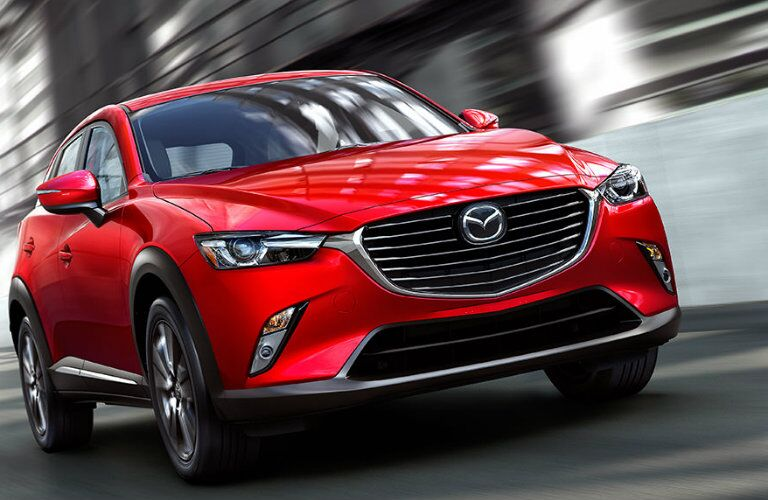 2017 mazda cx-3 in soul red paint color