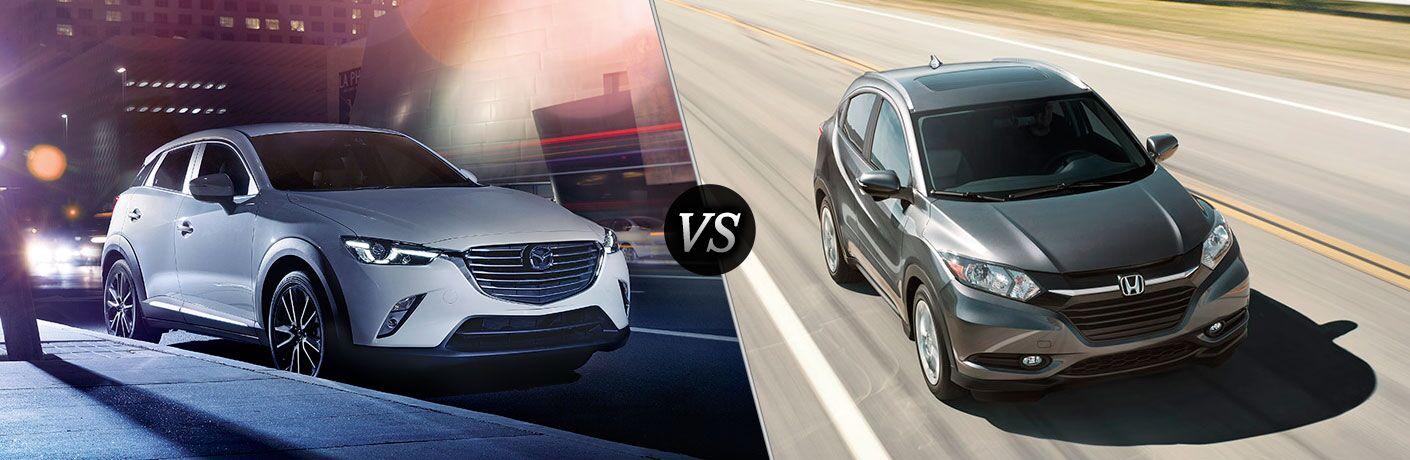 2017 Mazda CX-3 vs 2017 Honda HR-V
