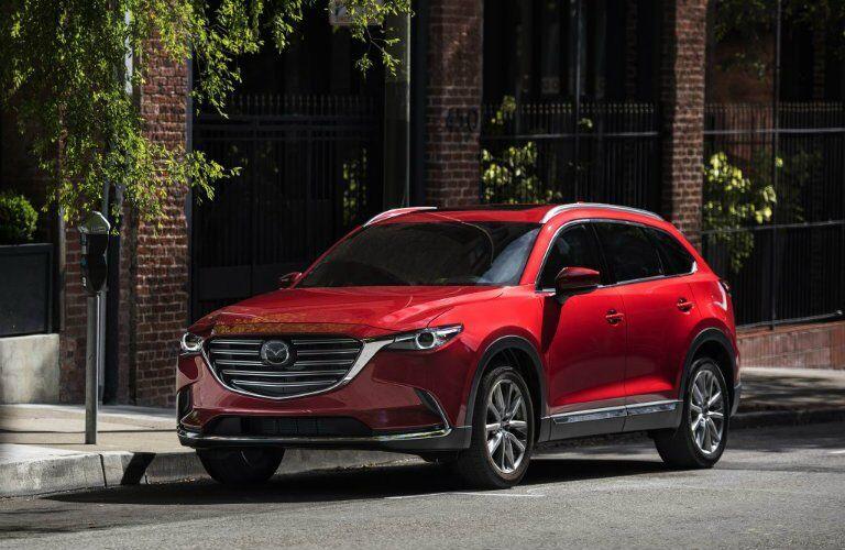 2017 Mazda CX-9 Soul red