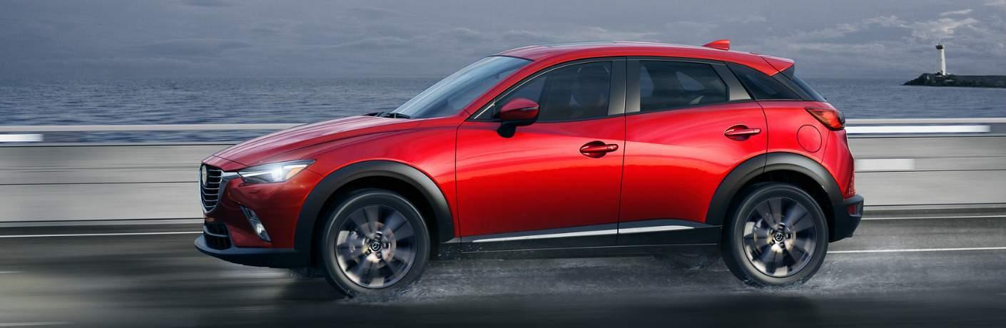 2018 Mazda CX-3 Driving in the Rain
