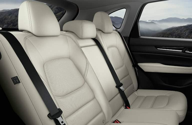 White Rear Seats of 2018 Mazda CX-5
