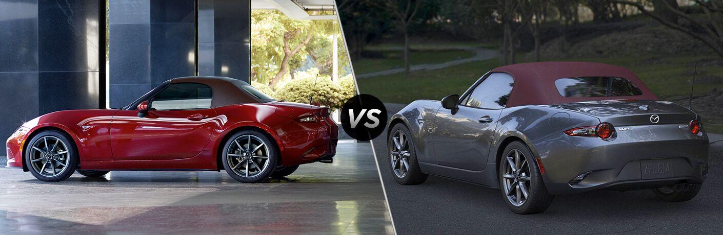 2019 Mazda MX-5 Miata vs 2018 Mazda MX-5 Miata