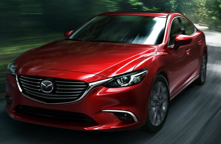 2016 mazda 6 driving on curvy country roads