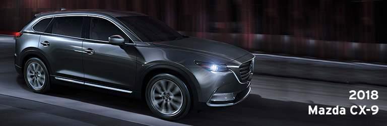 2018 Mazda CX-9 Title and Grey 2018 Mazda CX-9