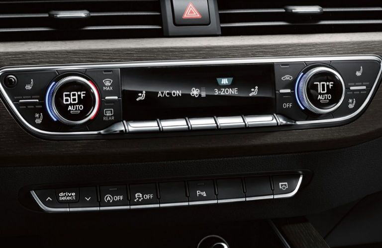 2018 Audi A5 Cabriolet climate control system