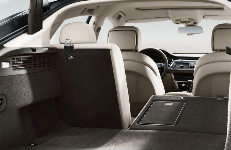 2018 Audi A7 cargo area