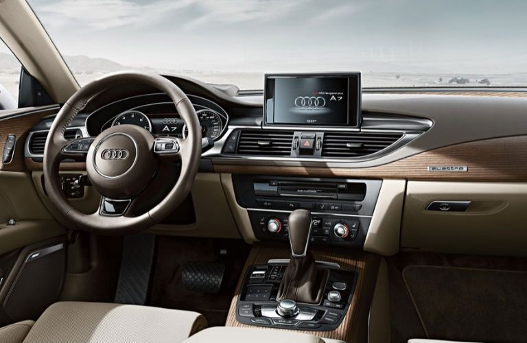 2018 Audi A7 dashboard
