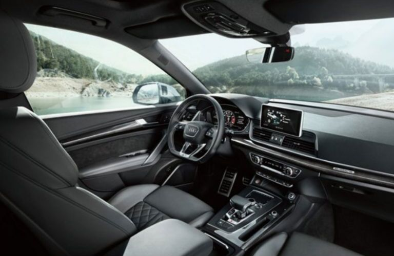 2018 Audi SQ5 dashboard