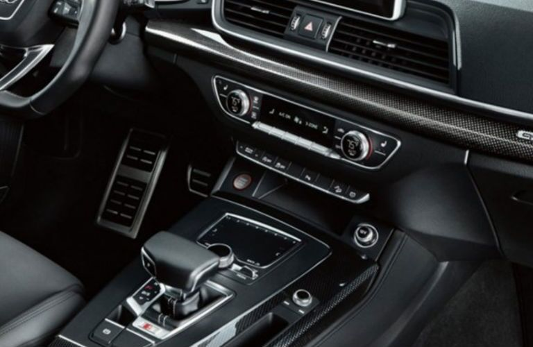2018 SQ5 gear shift
