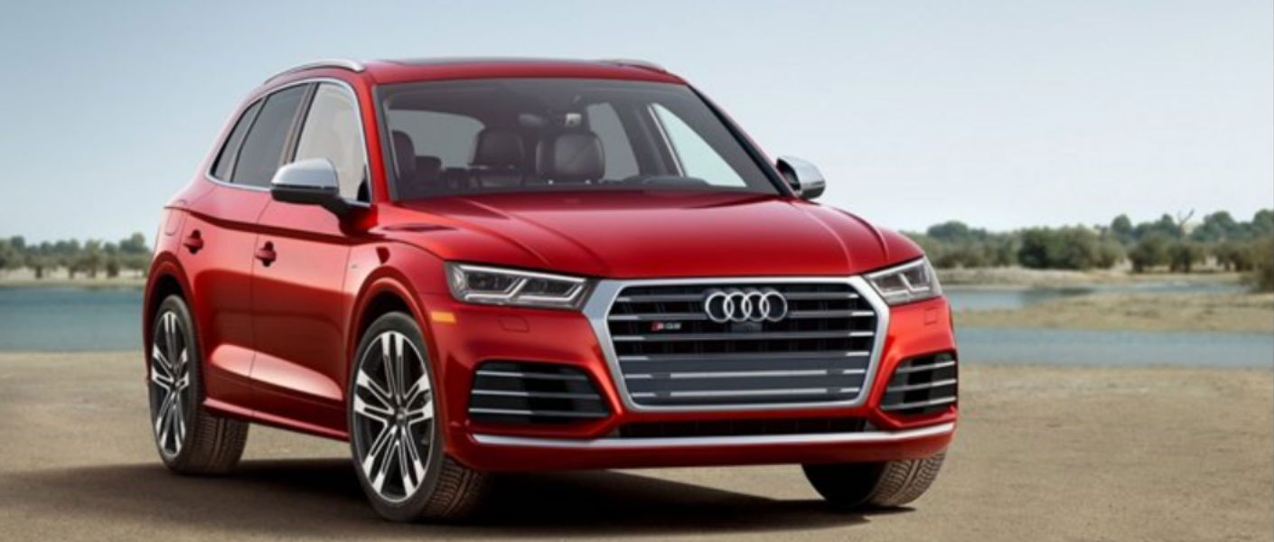 2018 Audi SQ5 in red