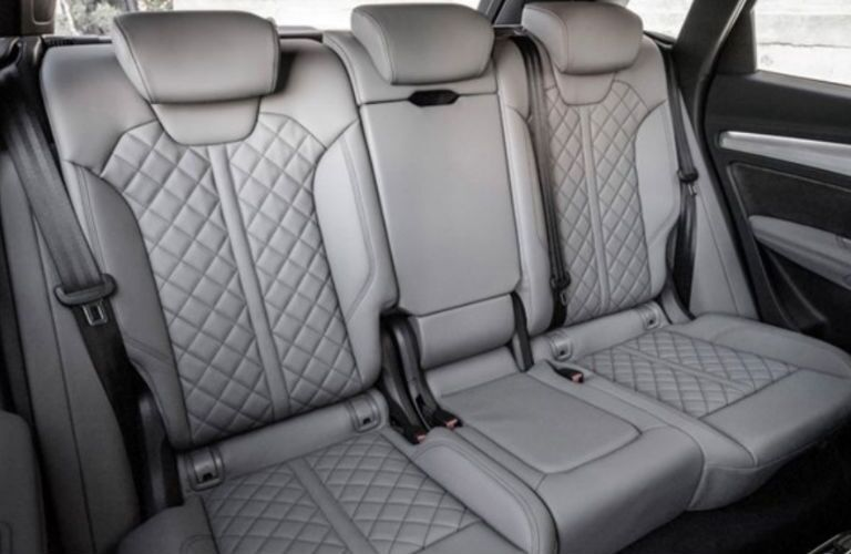 2018 Audi SQ5 rear seating