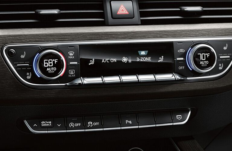 2019 Audi A5 Sportback climate control system