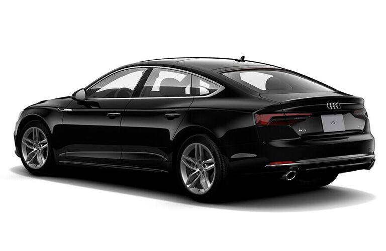 2019 Audi A5 Sportback side and rear profile