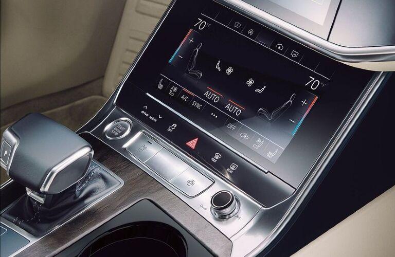 2020 A6 climate control touchscreen