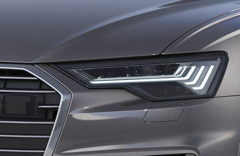 2019 Audi A6 headlight