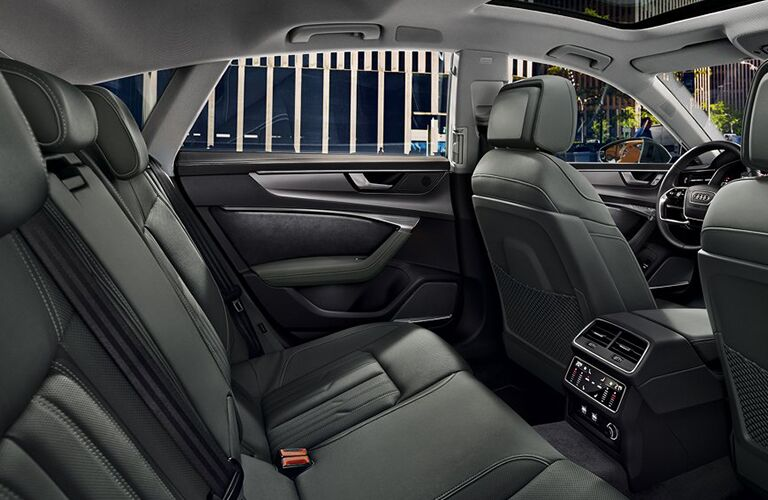 Back seats of the 2019 Audi A7