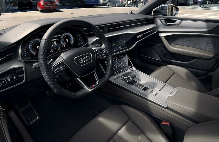 Front dash of the 2019 Audi A7