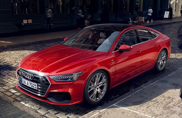 Red 2019 Audi A7