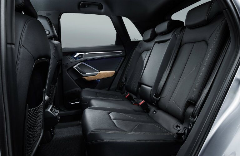 side view of back seat in 2019 Audi Q3